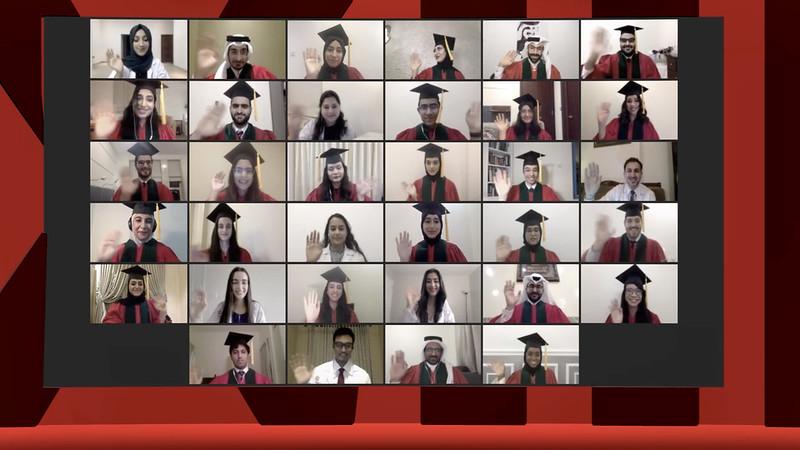 Weill Cornell Medicine-Qatar Graduation 2020