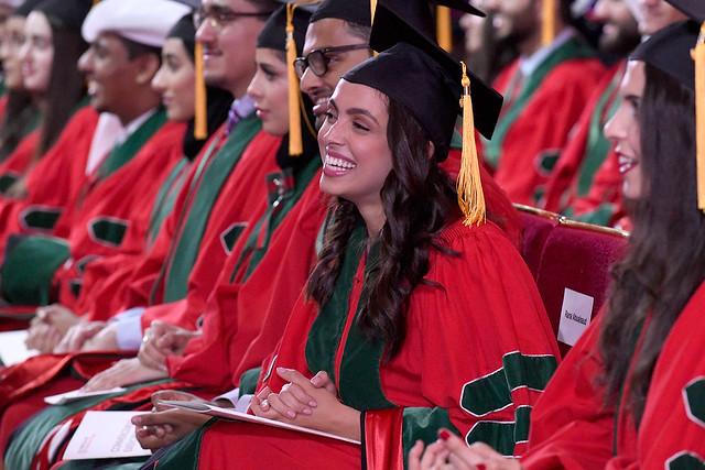 Graduating medical students at WCM-Q