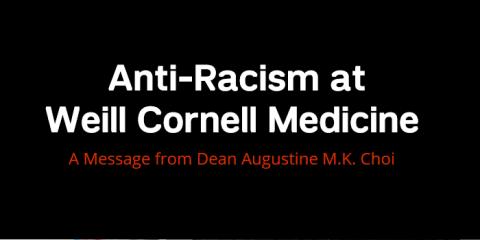 anti-racism sign