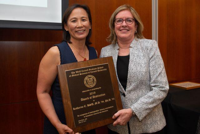 Dr. Katharine Hsu and Dr. Barbara Hempstead
