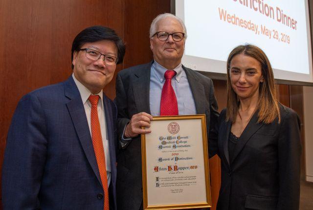 Dr. Allan Ropper, Dr. Augustine M.K. Choi and Dr. Natasha I. Leibel
