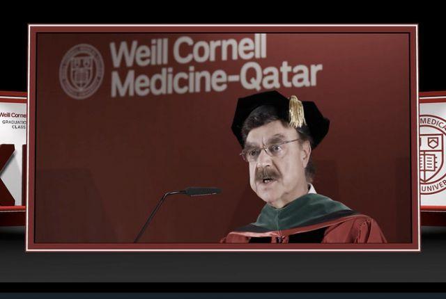 Weill Cornell Medicine-Qatar Online Graduation