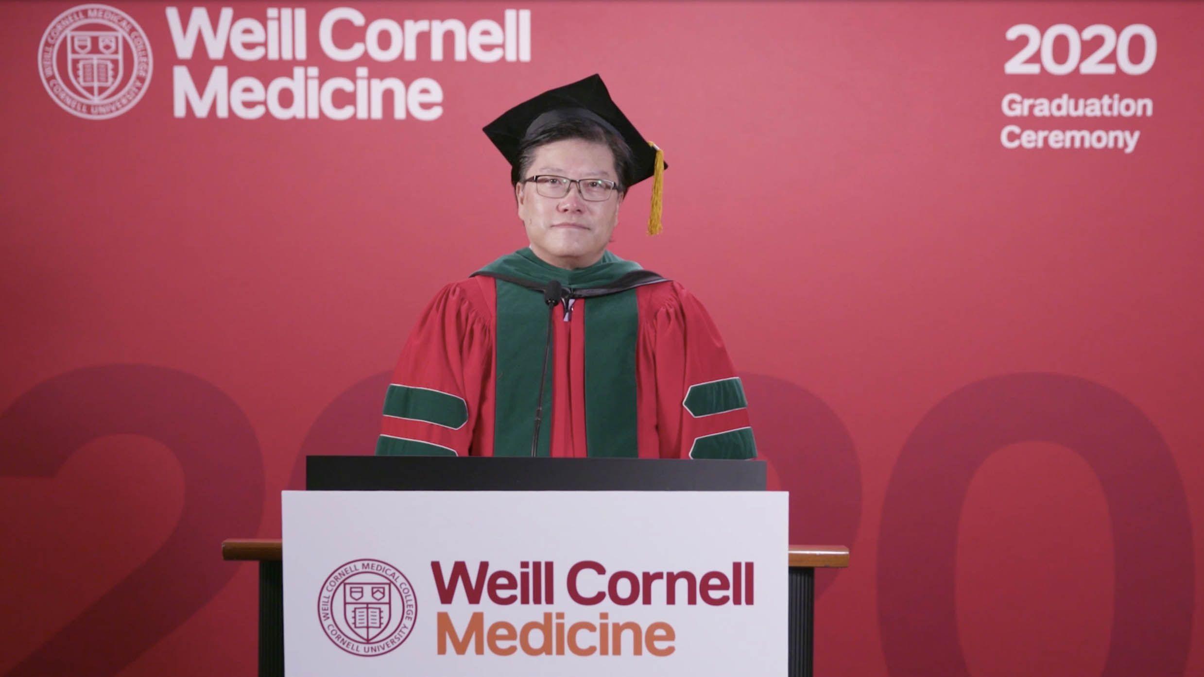 Weill Cornell Medicine Commencement 2020